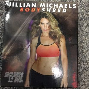 Jillian Michaels Bodyshred 12 Dvd Set Body Shred